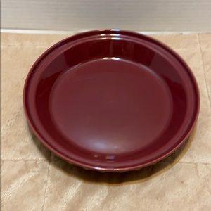 Fiesta Ware 10 inch claret pie pan